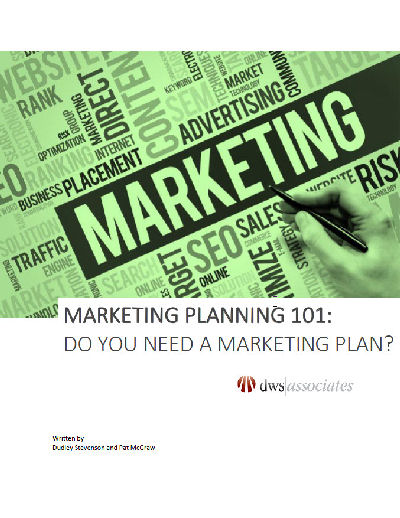 Marketing Planning 101 White Paper