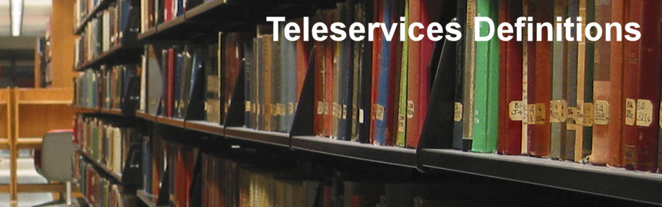 DWS Associates - Teleservices Definitions