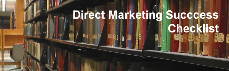 DWS Associates - Direct Marketing Success Checklist